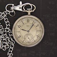 Lip винтажные карманные механические часы Франция