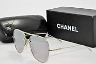 Очки солнцезащитные Chanel зеркальные