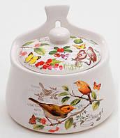"""Банка для сыпучих продуктов """"Birds Garden"""" настенная 380мл"""