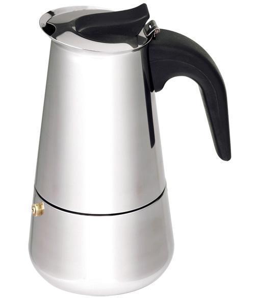 Гейзерная кофеварка Empire Stainless Steel 450мл на 9 чашек