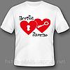 Яркие надписи и изображения на футболки