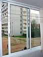 Раздвижные алюминиевые системы для остекления балконных рам, фото 3