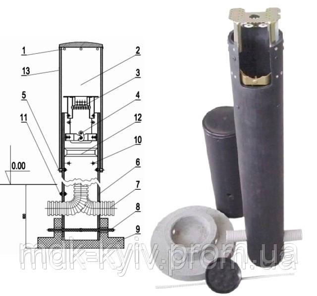 Распределительный столбик SR100P-1440