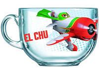 Кружка-бульонница Luminarc Disney Planes EL CHU стеклянная 500мл