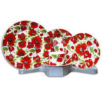 Столовый набор Poppy Field 30 предметов на 6 персон