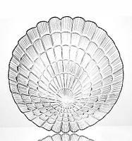 Набор 6 сервировочных тарелок Atlantis Ø19см стеклянные