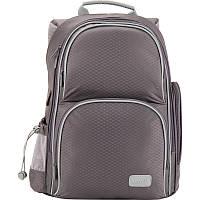 Рюкзак школьный Smart-4 (16л) серый, Kite
