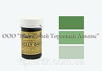 Гель-паста Sugarflair - Holly Green - Зелений падуб