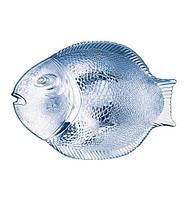 Тарелка сервировочная Marine Blue 260х210мм 1шт