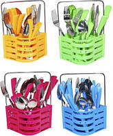 Набор столовых приборов Basket 25 предметов на 6 персон