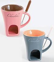 Набор для фондю Kamille Chocolate на 1 персону