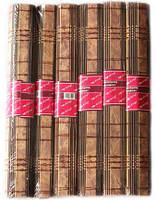 Набор 6 бамбуковых салфеток Datong 30х45см, светлое и темное дерево