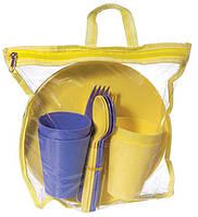 Набор для пикника Ucsan на 4 персоны 20 предметов в сумке