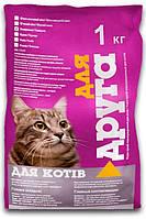 Сухой корм для котов Для Друга 1 кг (говядина), O.L.KAR. (Олкар)