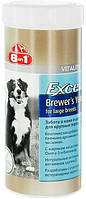 E109525 8in1 Excel Brewers Yeast For Large Breeds Пивные дрожжи для собак, 80 шт