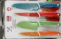 Набор кухонных ножей c дощечкой Swiss Zurich sz-13105