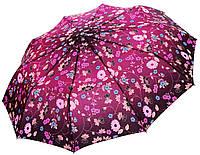 Женский зонт Zest Цветочный принт фиолет ( полный автомат, 10 спиц ) арт. 23966-38