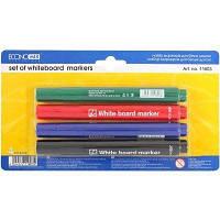 Маркер для доски Набор маркеров для белых досок ECONOMIX, 4  цвета в блистере, E11803 (E11803 x 50845)