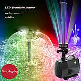 Фонтан со светодиодной подсветкой, 40Вт, фото 2