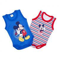 Набор боди-маек Mickey Mouse Disney, р-р. 56-92