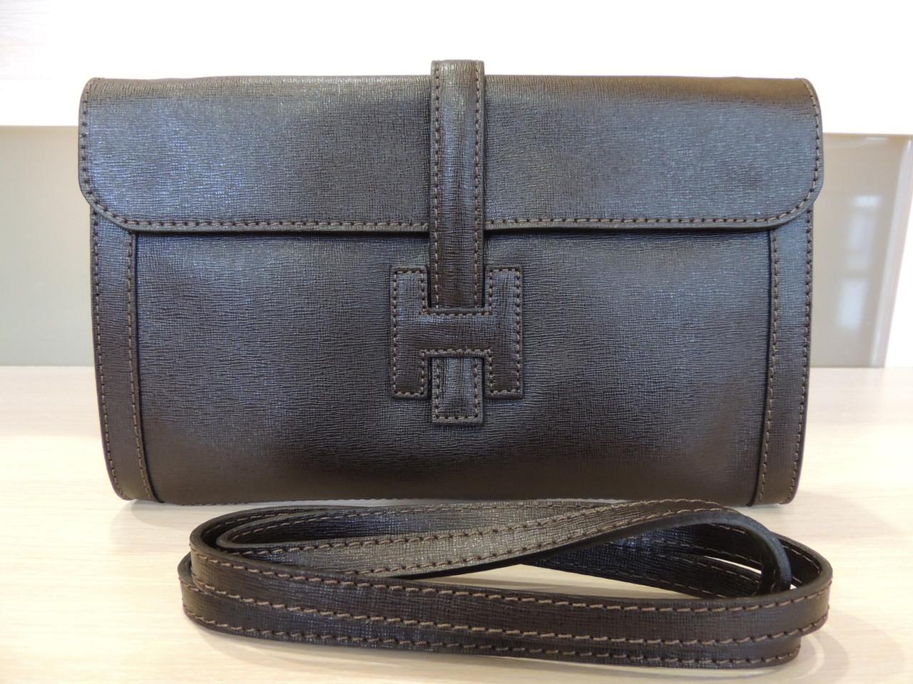 Белая, серая, коричневая, бирюзовая, синяя сумочка - клатч женская кожаная, итальянская. Коричневый, фото 1