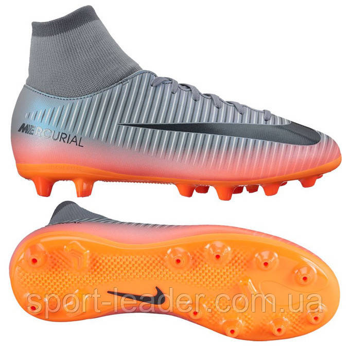 2dda27f253de Детские футбольные бутсы Nike Mercurial Victory VI DF JR CR7 AG-PRO  903603-001