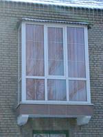 Обустройство и остекление балконов
