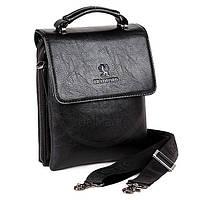 Мужская сумка Bradford 18774-2 пять отделов из искусственной кожи на плечевом ремне размеры 20см х 25см х 7см