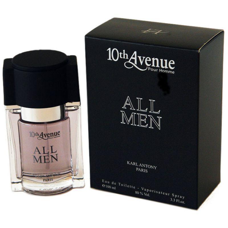 Мужская туалетная вода 10th Avenue All Men 100ml. Karl Antony