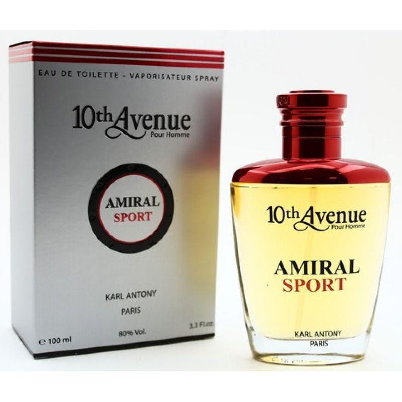 Мужская туалетная вода 10th Avenue Amiral Sport 100ml. Karl Antony