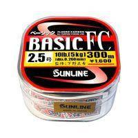 Леска Sunline Basic FC 225м 0,33мм #4 16Lb