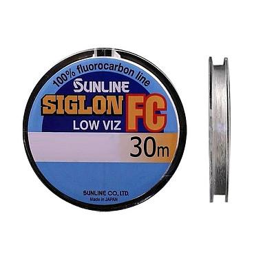 Леска Sunline SIG-FC флюорокарбон 30м 0,180мм 2.2кг поводковый