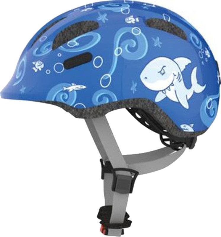 Велошлем детский ABUS SMILEY 2.0 Blue Sharky (M)