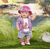 Кемпинг одежда и обувь для пупса Baby Born Zapf Creation 823767