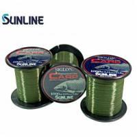 Леска Sunline SIGLON CARP 1000м (зеленый) 0,28мм 5.5кг
