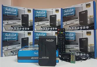 Спутниковый тюнер ресивер приставка Satcom 4010 HD Light