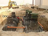 Устройство канализации, частная канализация, септики из бетонных колец