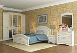 Ліжко двоспальне Венера Люкс 160 біла, фото 2