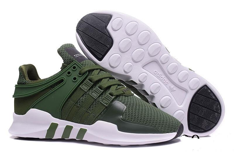 hot sale online 99fbe ee089 Кроссовки Adidas Originals EQT Support ADV Olive Cargo Green White