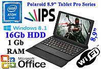 """Супер планшет - ноутбук Polaroid 8.9"""" Intel Atom 1/16GB Windows 8"""