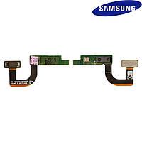 Шлейф для Samsung G935F Galaxy S7 EDGE, c датчиком приближения, с компонентами (оригинальный)