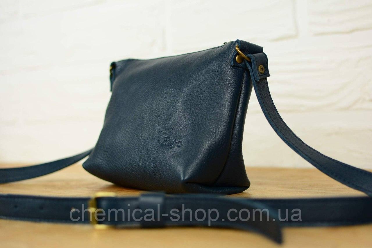 Женская сумка летняя синяя кожа «Люкс» - Интернет-магазин выгодных цен