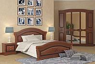 Кровать двуспальная Венера Люкс 160 орех