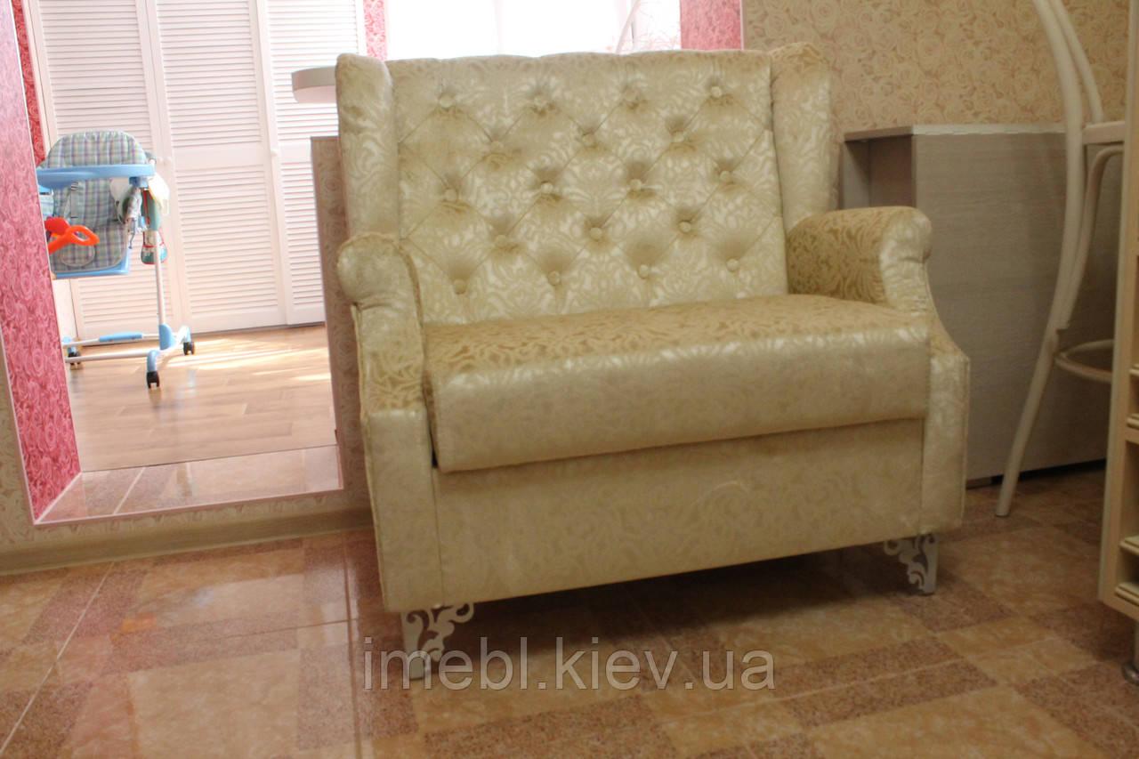Мягкий кухонный диванчик с ящиком под заказ