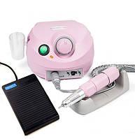 Фрезер для маникюра, комбинированного педикюра Escort 2 Pro розовый, 30-35 000 об/мин с реостатной педалью