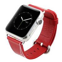 Ремешок для smart watch 42мм красный с рисунком