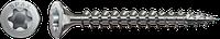 Саморізи Spax,нержавіюча сталь, потайна головка, T-STAR plus, повна різьба