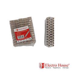 ElectroHouse Клеммная колодка 3A-4mm2 ПЭ EH-CPE-0001