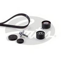Комплект ремня ГРМ (ремень+ролики) 1,6 16V Duster/Logan/Kangoo/Clio GATES K015671XS