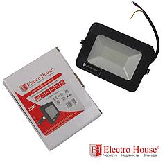 ElectroHouse LED прожектор 20W IP65 ElectroHouse